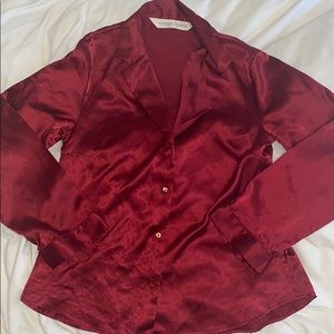 Victoria Secret satin blouse